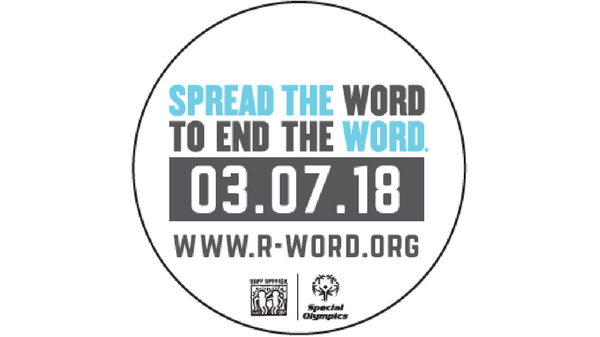 I won't spend time to spread the word to end the word – The R word that is
