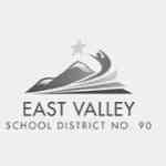 East Valley School District 90 Logo Grey Scale