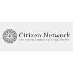 Logo Citizen Network For A World Where Everyone Matters Logo Grey Scale
